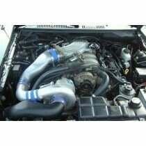 Vortech 4FL218-098SQ 2001 Mustang Bullitt Supercharger TUNER Kit w/ V-2si (Polished)