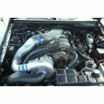Vortech 2001 Mustang Bullitt Intercooled Supercharger TUNER Kit w/ V-3si (Satin)