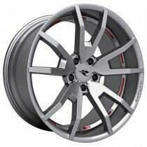 "CDC 2005-2018 Mustang 20"" x 10"" Outlaw Wheel (Gloss Hyper Silver)"
