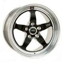 "Weld Racing 07-2014 Mustang 18x7"" S71 RT-S Front Wheel for OEM Brembo's (Black) - 71HB8070A41A"