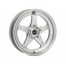 "Weld Racing Mustang 18x5"" S71 RT-S Polished Front Wheel (86-93 Mustang 5 Lug / 94-04 Mustang / 05-2010 Mustang / 2011-2014 Mustang V6 w/ Base Brakes)"