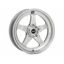 "Weld Racing 07-2014 Mustang 18x7"" S71 RT-S Front Wheel for OEM Brembo's (Polished) - 71HP8070A41A"