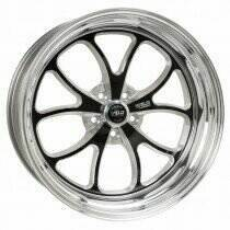 "Weld Racing Mustang 17 x 4.5"" S76 Black Front Wheel (86-93 Mustang 5 Lug / 94-04 Mustang) - 76MB7045A22A"