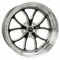 """Weld Racing 07-2014 Mustang 18x7"""" S76 RT-S Front Wheel for OEM Brembo's (Black)"""