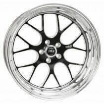 """Weld Racing 07-2014 Mustang 18x7"""" S77 RT-S Front Wheel for OEM Brembo's (Black)"""