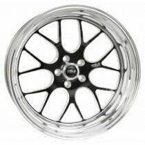 "Weld Racing 94-04 Mustang 17 x 9"" S77 Rear Wheel (Black) - 77MB7090A58A"