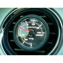 "Whipple 2-1/16"" Mechanical Boost Gauge (-20 InHg / +20 psi)"