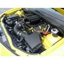 Whipple 2013-2015 Camaro W175FF Gen 4 (2.9L) SC Kit / Intercooled / 9-10psi / Black