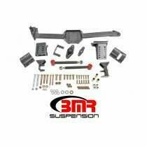 BMR Suspension WL005H 2005-2014 Mustang Watts Link with Poly/Rod Ends (Black Hammertone)