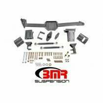 BMR Suspension WL006H 2005-2014 Mustang Watts Link with Rod End/Rod End (Black Hammertone)