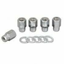 "Weld Racing Chrome 1/2""-20 Open Ended Lug Nuts (Pack of 5) - 601-1456"