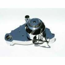 Meziere LS1 Through LS8 Electric Water Pump (Chrome)