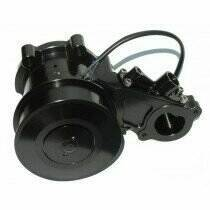 Meziere 5.0L Coyote 55 GPM Electric Water Pump (12 Rib Smoother Idler Pulley)
