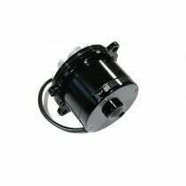 Meziere Mustang High Flow Electric Waterpump - No Idler (Black)