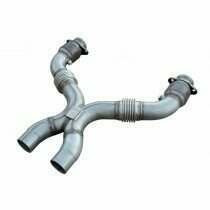 Pypes 2011-2014 Mustang 5.0L Shorty Catted X Pipe for Long Tube Headers