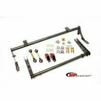 BMR 05-2014 Mustang XTREME Anti-Roll Bar Kit (Black Hammertone)