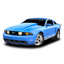 "Cervinis 1199 2010-2012 Mustang 4"" Cowl Hood"
