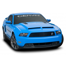 Cervinis 1226 2010-2012 Mustang Concept Ram Air Hood with Louvers
