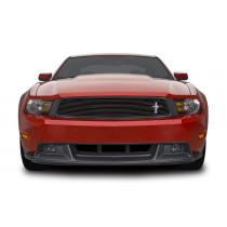 Cervinis 2010-2012 Mustang GT/CS Chin Spoiler & Upper Billet Grille Combo