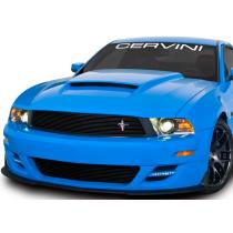 Cervinis 7253 2010-2012 Mustang GT Upper Billet Grille w/ Running Horse Emblem