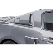 Cervinis 2010-2014 Mustang C-Series Quarter Window Scoops
