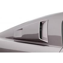 Cervinis 05-09 Mustang C-Series Quarter Window Scoops