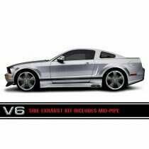 Cervinis 8037 05-09 Mustang V6 Side Exhaust Kit