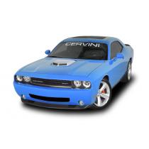 Cervinis 8041 08-17 Challenger R/T & SRT8 Shaker Hood Kit - Silver Scoop