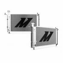 Mishimoto 94-95 Mustang GT / V6 High Performance Aluminum Radiator with Stabilizer System (Manual Transmission)