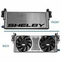 Shelby American Dual Pass Heat Exchanger w/ Dual Puller Fans