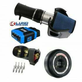 Lethal Performance Intake, TB, Lower Pulley, and Plugs Power Package - PMAS, ATI, NGK, Lund Tune, HPT RTD Tune Device (2011-2014 Shelby GT500)