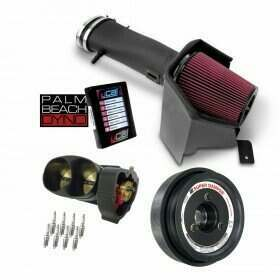 Lethal Performance Intake, TB, Lower Pulley, and Plugs Power Package - JLT Intake, ATI Balancer, NGK Plugs, Palm Beach Dyno uCal with Tune (2011-2014 Shelby GT500)