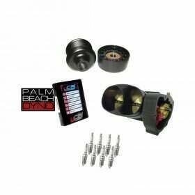 Lethal Performance Boost Upgrade Power Pack - VMP Pulley & Idler, Throttle Body, NGK Plugs, Palm Beach Dyno uCal with Tune (2013-2014 Shelby GT500)