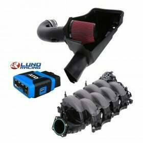Lethal Performance Stage 2 Power Pack - Intake, Manifold, and HPT RTD Tuner & Lund Tune (2015-2017 Mustang GT)