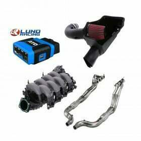 Lethal Performance Stage 3 Power Pack - Intake, Manifold, Headers, and HPT RTD Tuner & Lund Tune (2015-2017 Mustang GT)