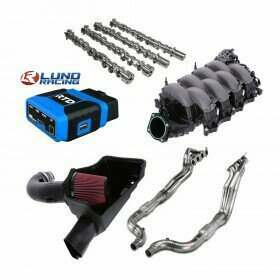 Lethal Performance Stage 4 Power Pack - Intake, Manifold, Headers, Cams, and HPT RTD Tuner & Lund Tune (2015-2017 Mustang GT)