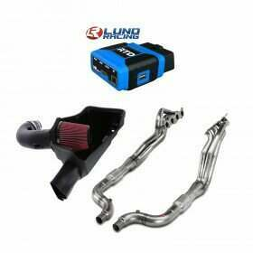 Lethal Performance Stage 2 Power Pack - Intake, Headers, and HPT RTD Tuner with Lund Tune (2018+ Mustang GT)