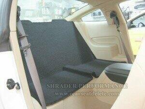 Shrader Performance 05-2010 Mustang Rear Seat Delete (Coupe)