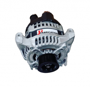 J2 Fabrication Denso-Style Hairpin EXTREME OUTPUT Alternator (03-04 Cobra, GT500, Coyote & 3V)
