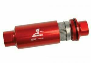Aeromotive Billet Fuel Filter (100 Micron Stainless Element)