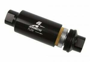 Aeromotive Billet Fuel Filter with Black Housing (10 Micron Element)