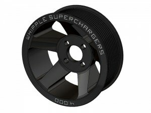 Whipple 03-04 Cobra, Mustang 4.6 3V, W175FF Coyote, 5.0L/6.2L Truck 8 Rib Supercharger Pulley