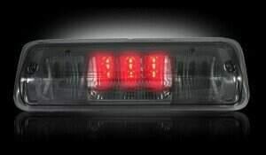 Recon LED 3rd Brake Light Kit w/White LED Cargo Lights (Smoked)