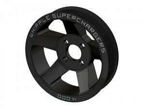 Whipple 2011-2014 Mustang 5.0L Supercharger Pulley (Fits FRPP 2.3L /  Whipple 2.3L /  Rear Feed 2.9L)