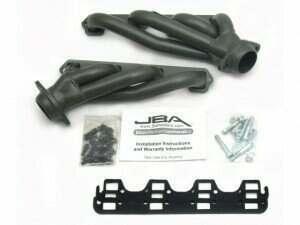 "JBA 03-04 Mach-1 / 99-04 Cobra 1 5/8"" Titanium Ceramic Cat4ward Shorty Header"