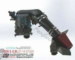 2007-2014 Shelby GT500 Gen 5 Crusher 3.0L Whipple Supercharger Kit - WK-2505B