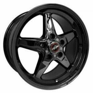 "Race Star Drag Wheel 18"" x 8.5"" - Dark Star Finish (2013-2014 GT500 & 2015+ GT w/ Standard or Upgraded Brake Pkg)"