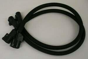 ARH C6 Z06 Rear O2 Sensor Extension Harnesses (Rear, Pair)