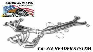 "ARH Z06-06178300LSWC 2006-2013 C6 Z06 Corvette Long System 1-7/8"" x 3"" with Cats"