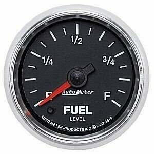 """Auto Meter GS Series 2 1/16"""" Fuel Level Gauge"""
